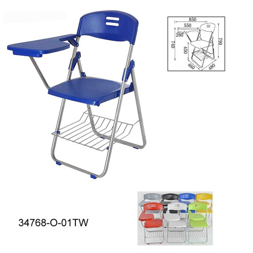 34768-O-01-TW Folding School Chair