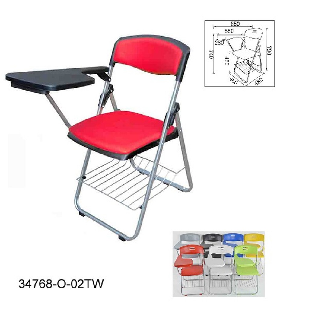 34768-O-02-TW Folding School Chair