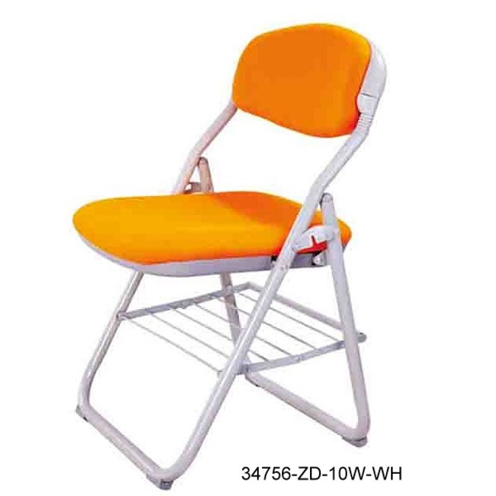 34768-ZD-10W-GR Folding School Chair