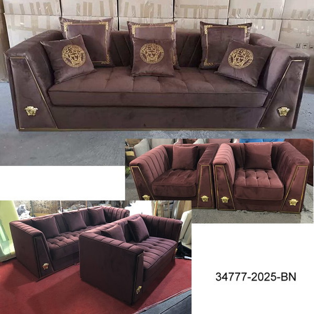 34777-2025 Stainless Steel Sofa Set