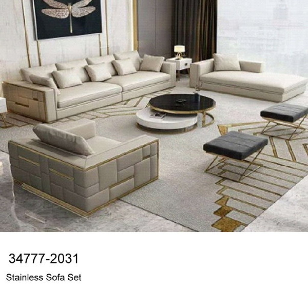 34777-2031  Stainless Steel Sofa Set