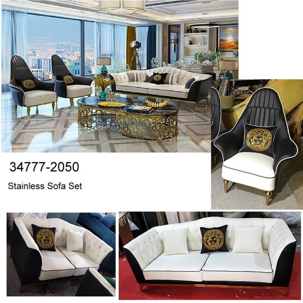 34777-2050 Stainless Steel Sofa Set