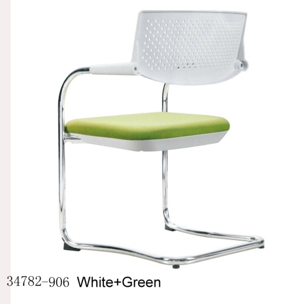 Office Chair-34782-906 White+Green