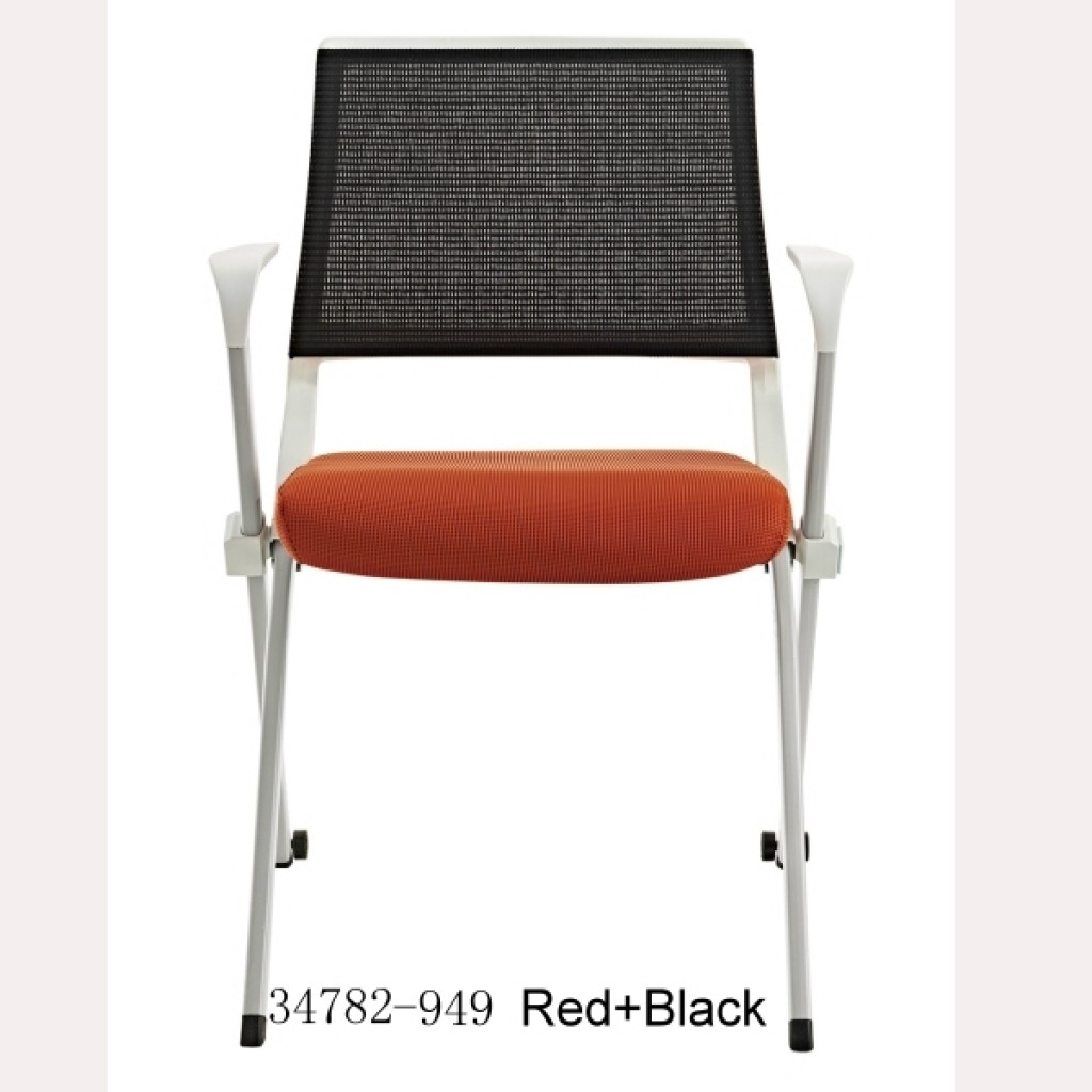 Office Chair-34782-949 Black+Red