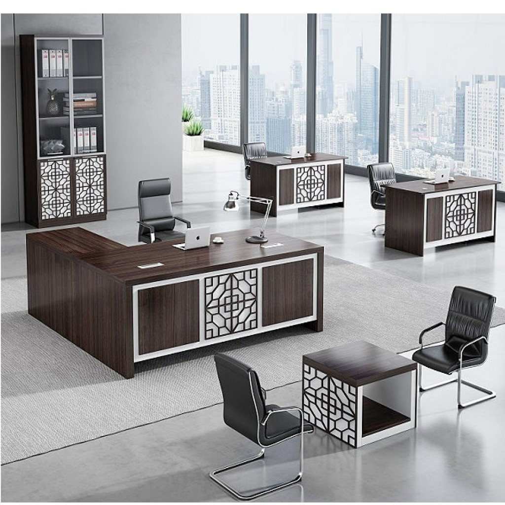34946-8002 Acrylic Decoration of Wooden Office Set