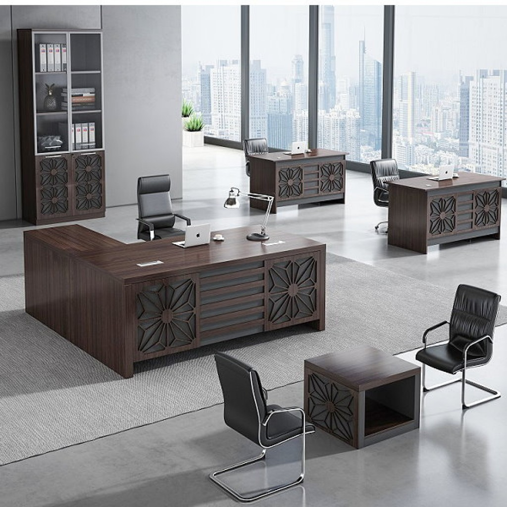 34946-8005 Acrylic Decoration of Wooden Office Set