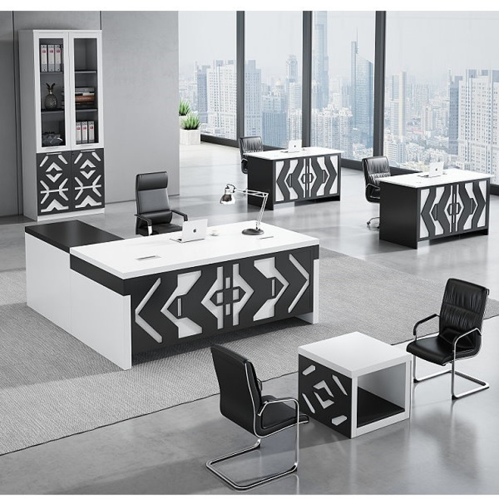 34946-8013 Acrylic Decoration of Wooden Office Set