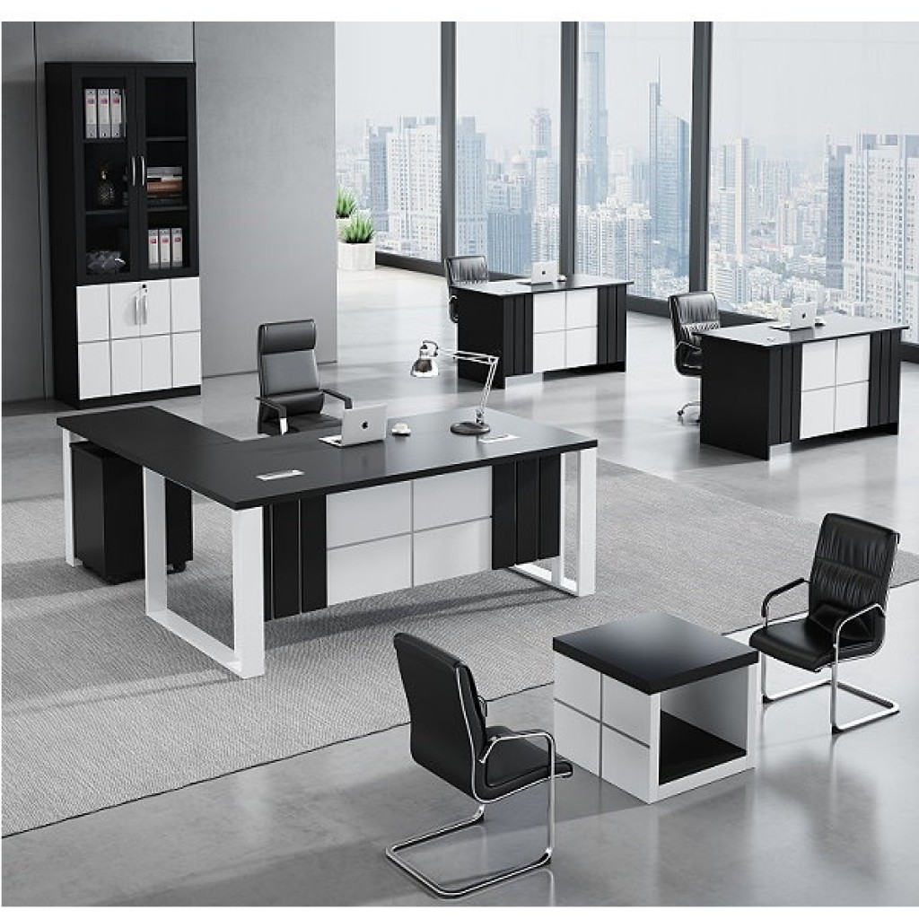 34946-8014 Acrylic Decoration of Wooden Office Set
