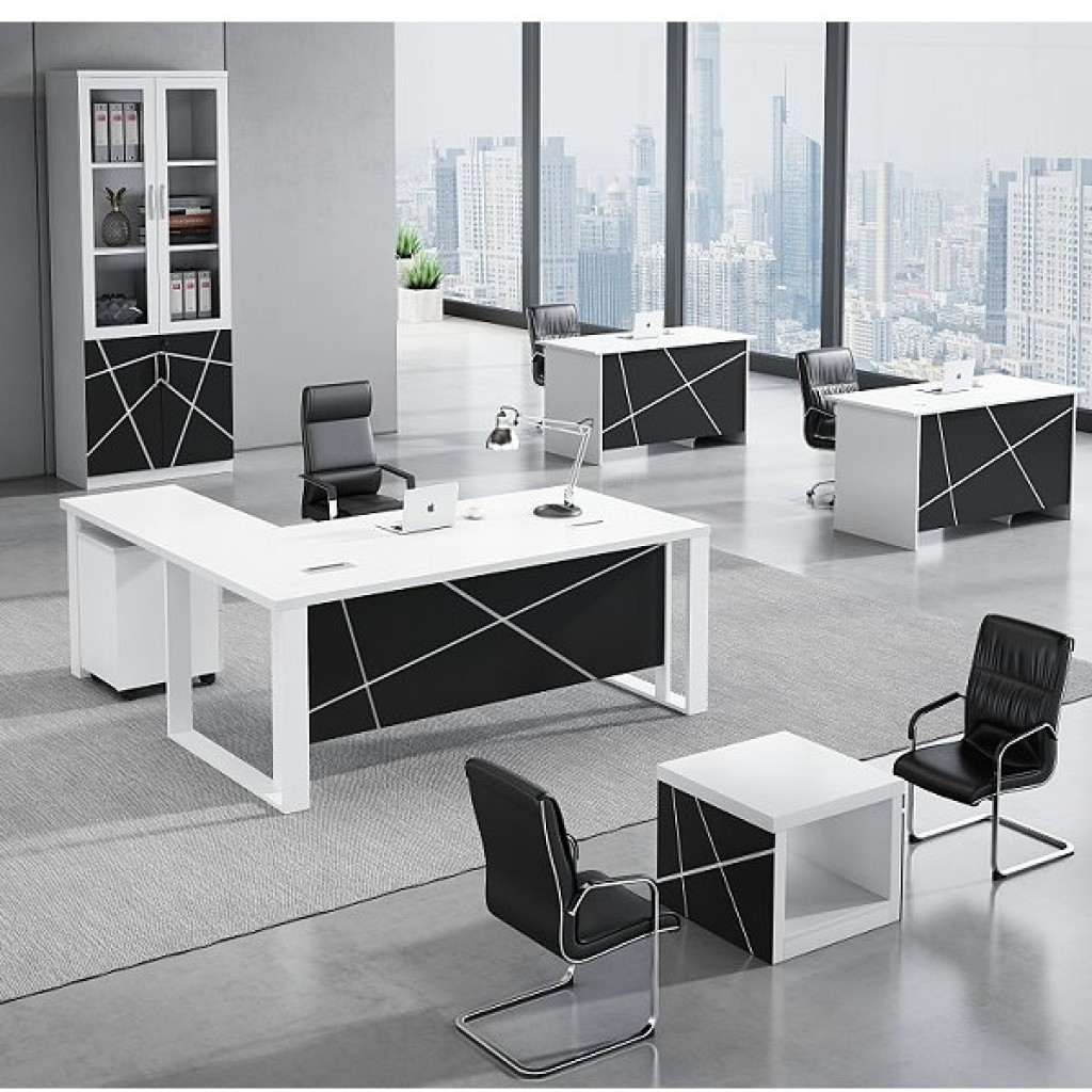 34946-8015 Acrylic Decoration of Wooden Office Set
