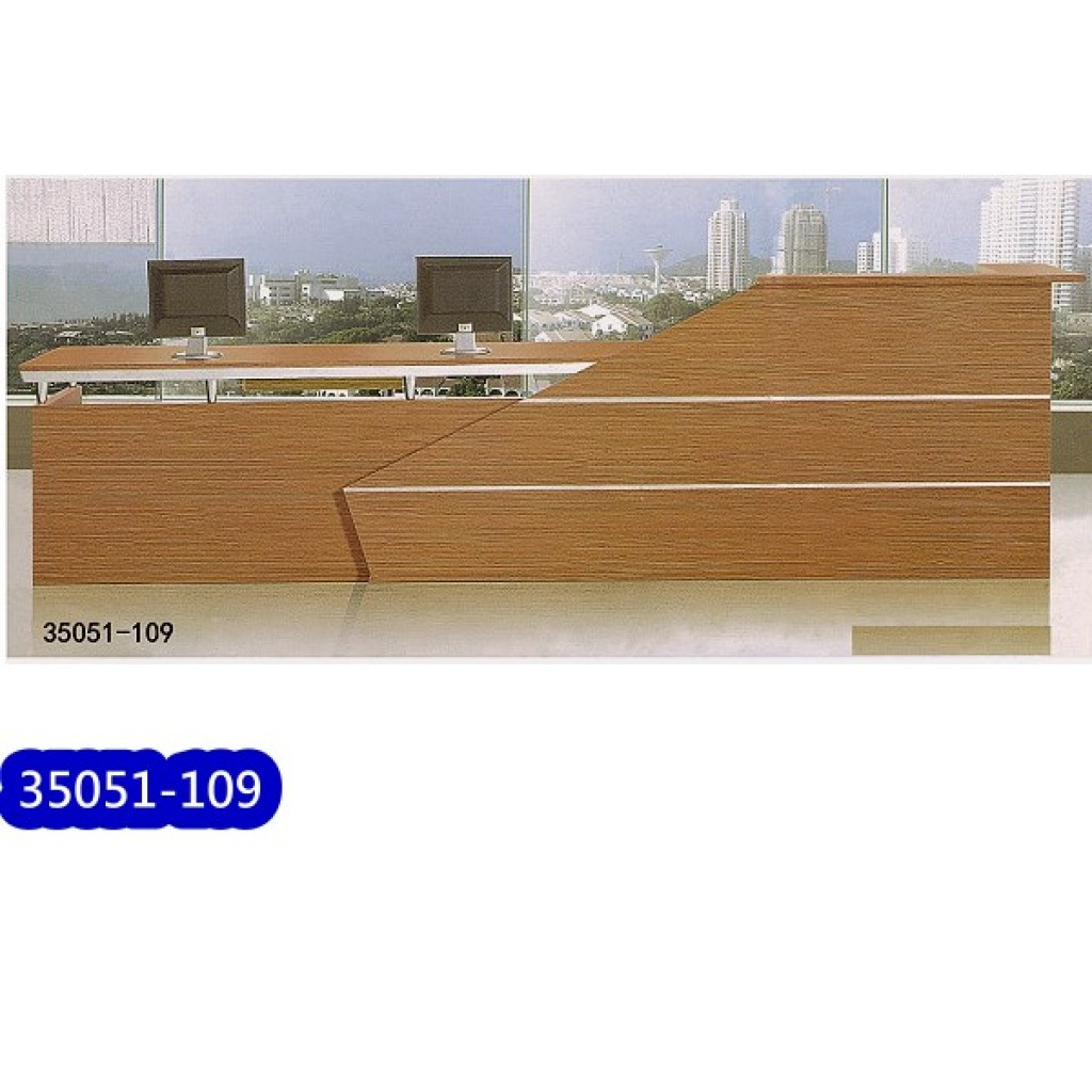 35051-109 Wooden Reception Table