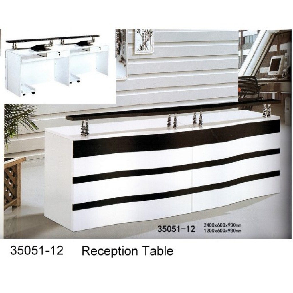 35051-12 Wooden Reception Table