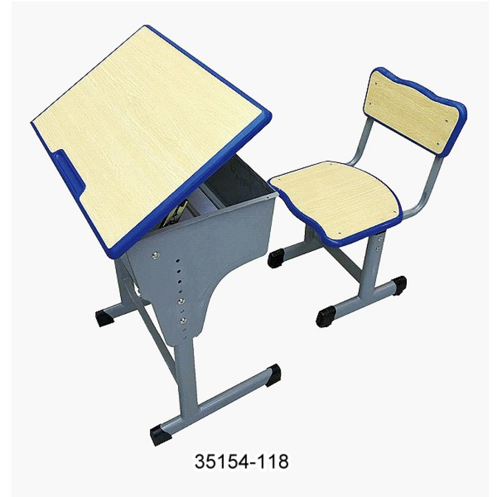 35154-118 student desk and chair