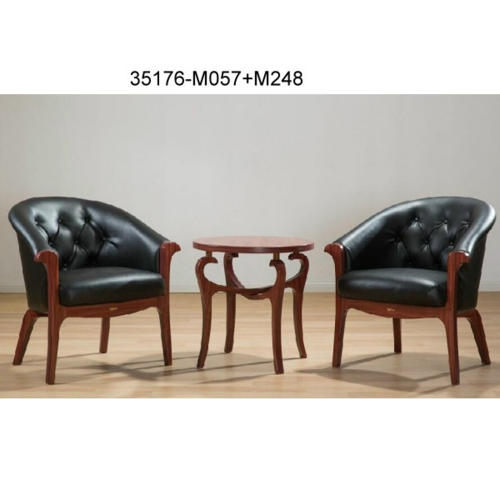 35176-M057+M248 Wood table chair sets