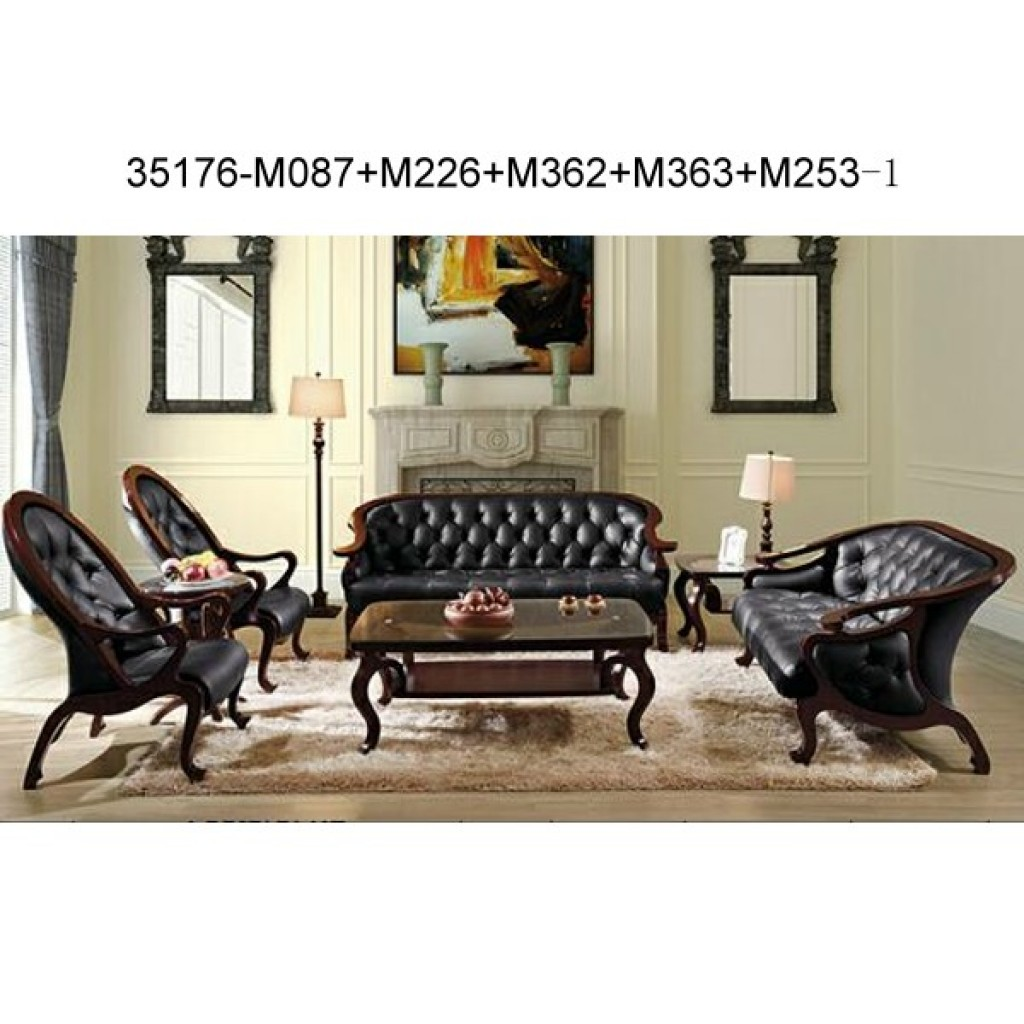 Wood sofa set 35176-M087+M226+M362+M363+M253