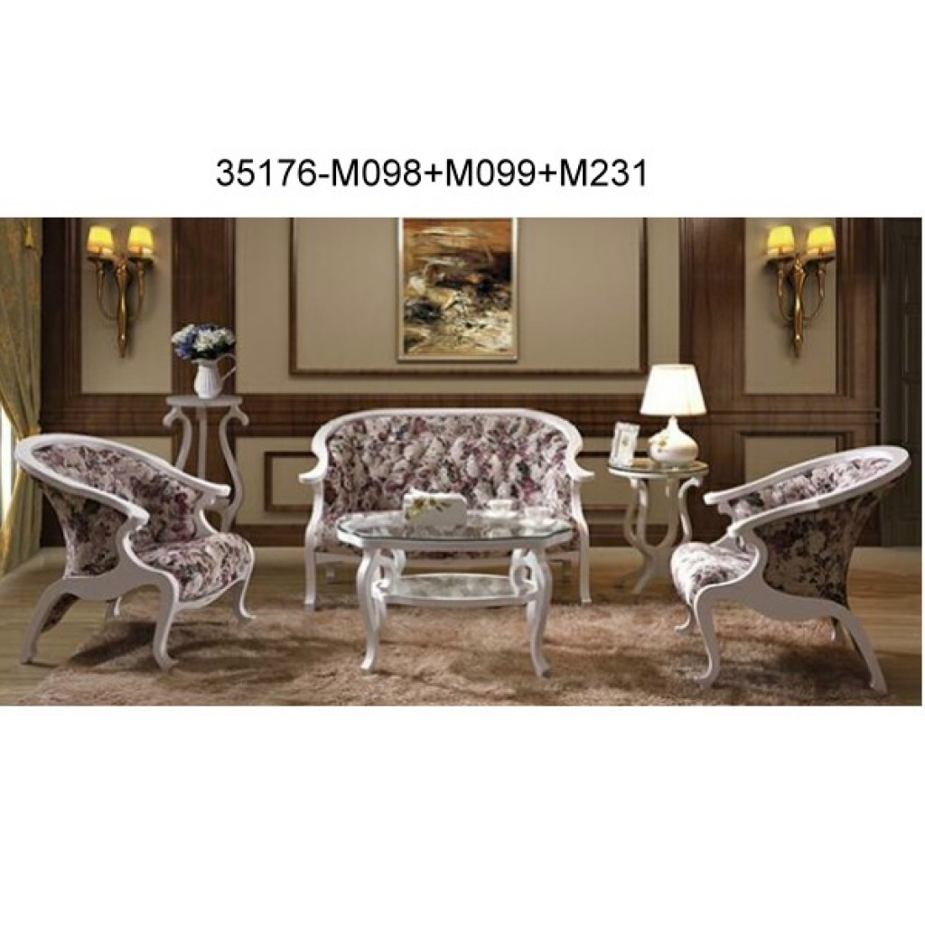 Wood sofa set 35176-M098+M099+M231