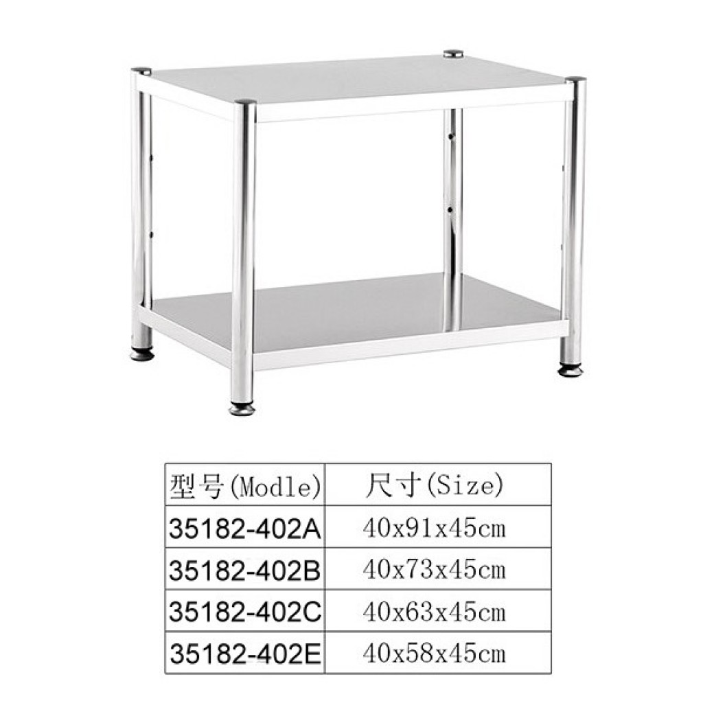 35182-402C Stainless steel Shelf