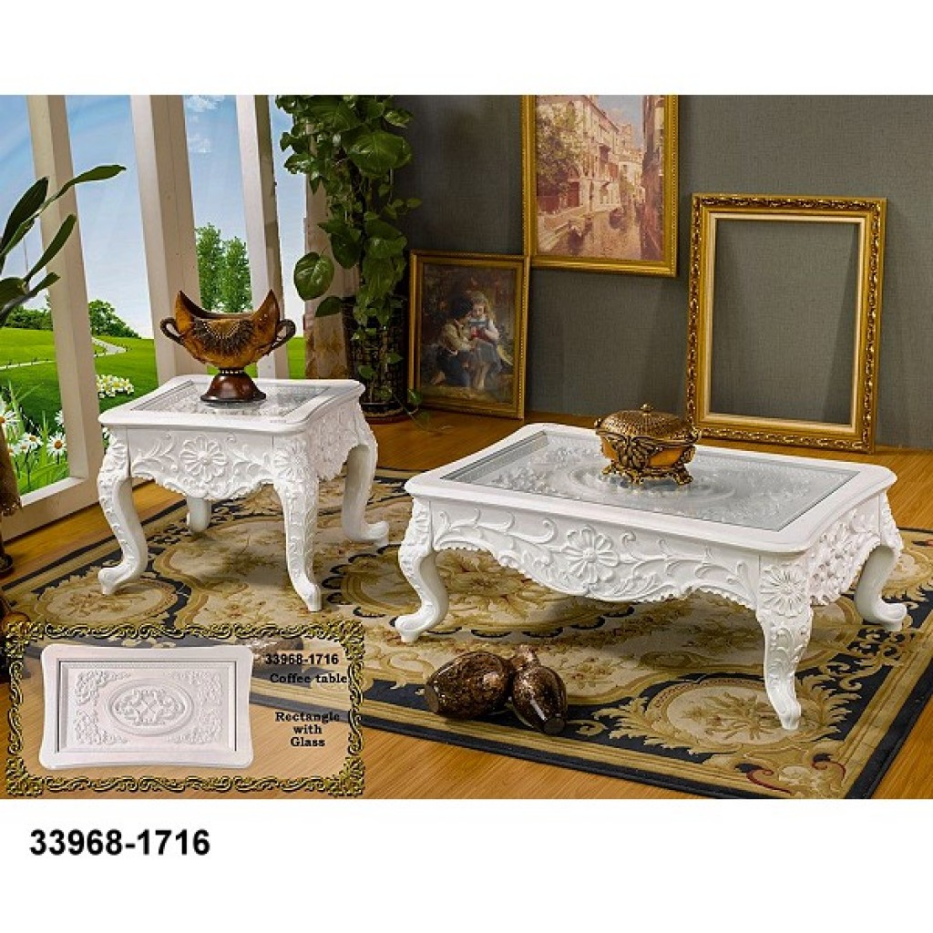 33968-1716 Wooden Coffee Table