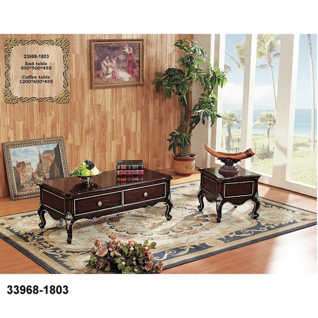 33968-1803 Wooden Coffee Table