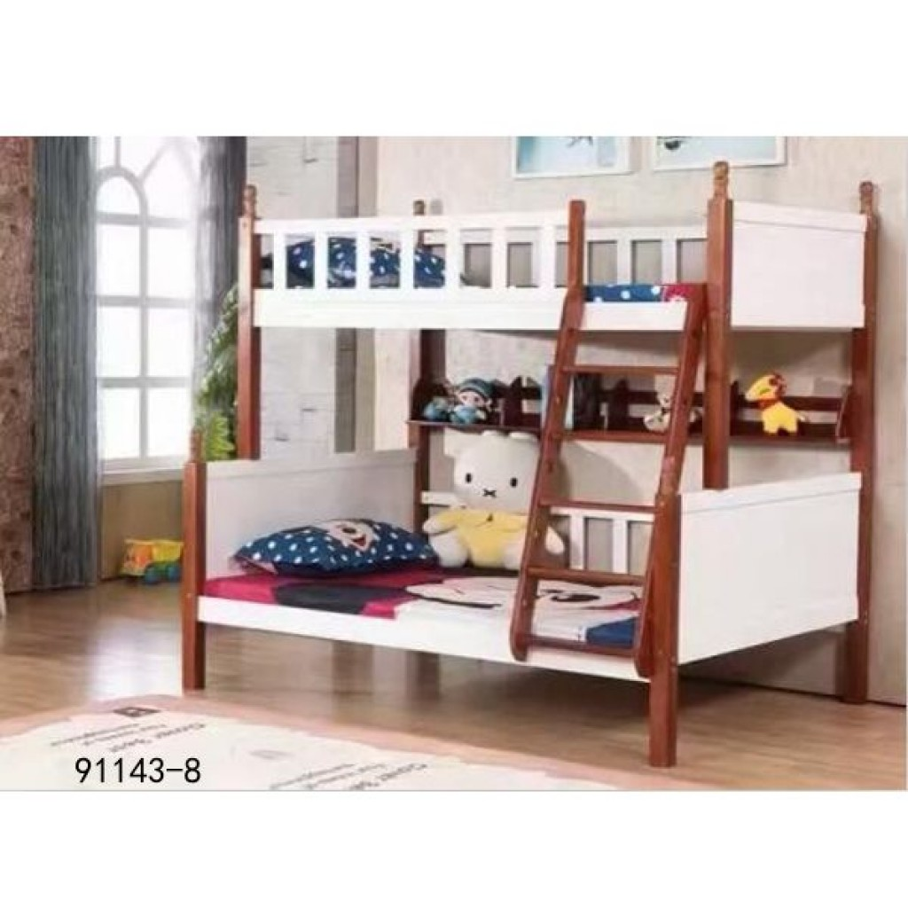 91143-8 kid's wooden bed