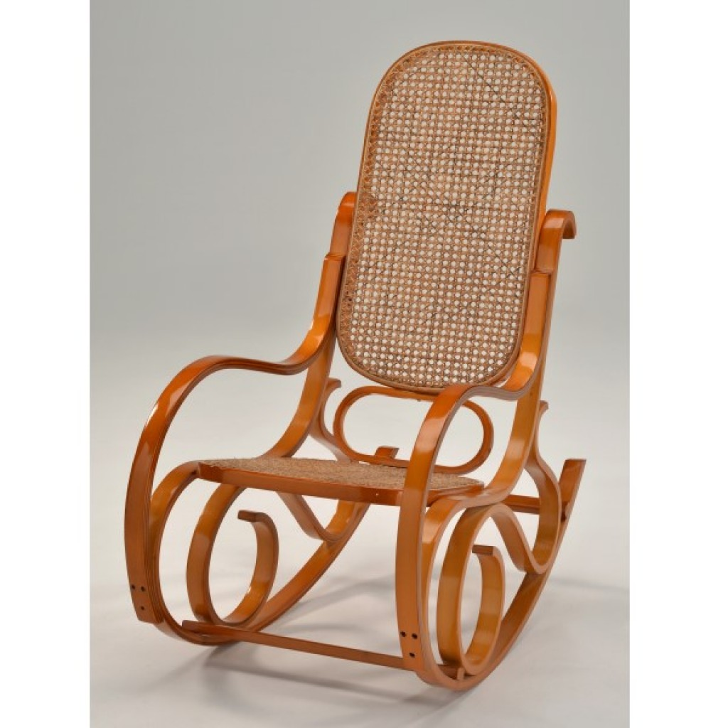 F-1103 Bent Wood Rocking Chair
