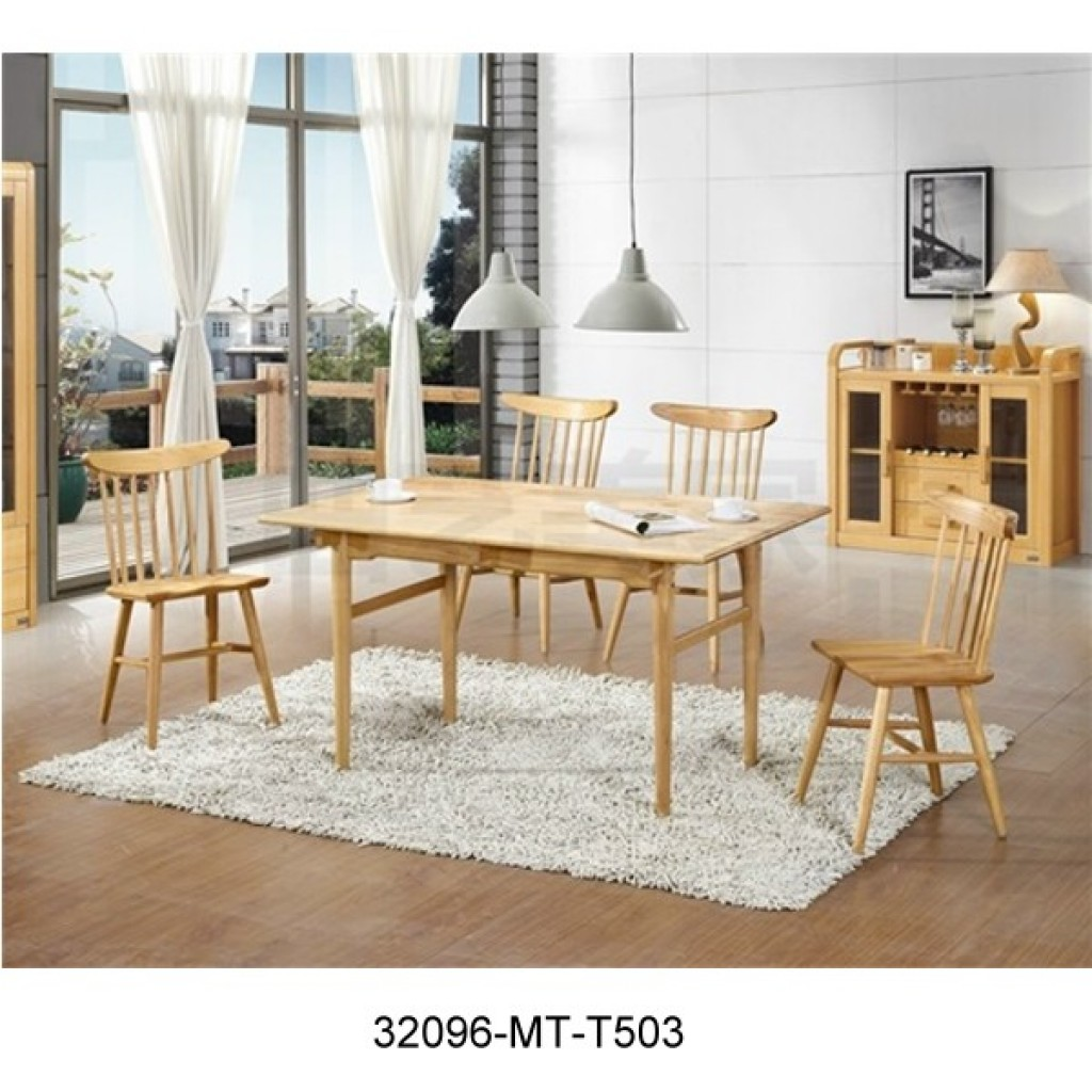 32096-T503-1 Wooden Dining Set