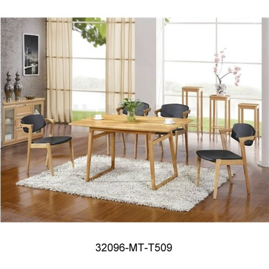 32096-T509 Woodem dining Set
