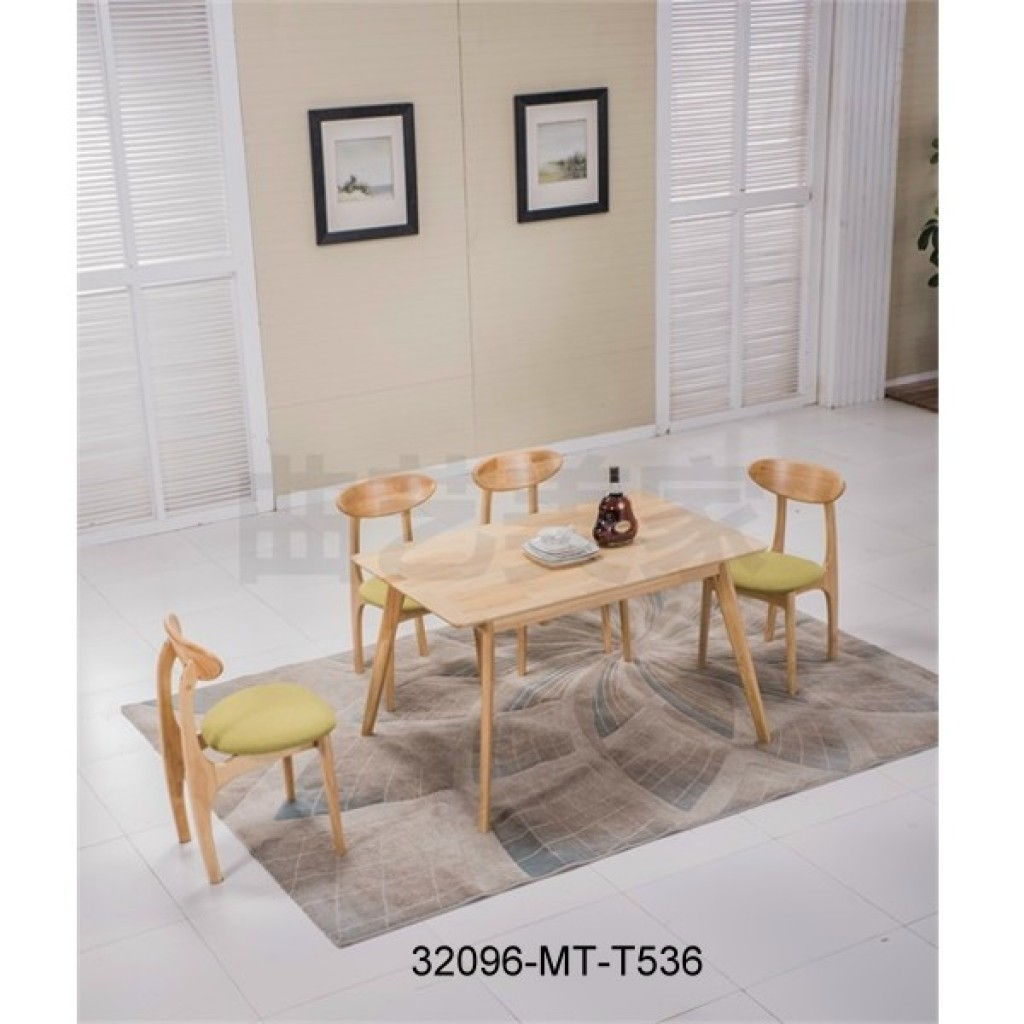 32096-T536 Wooden Dining Set