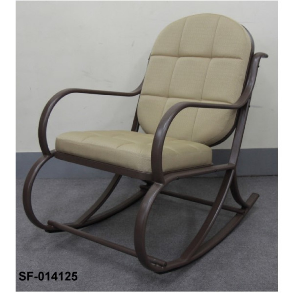 SF-014125 Metal Rocking Chair w/cushion