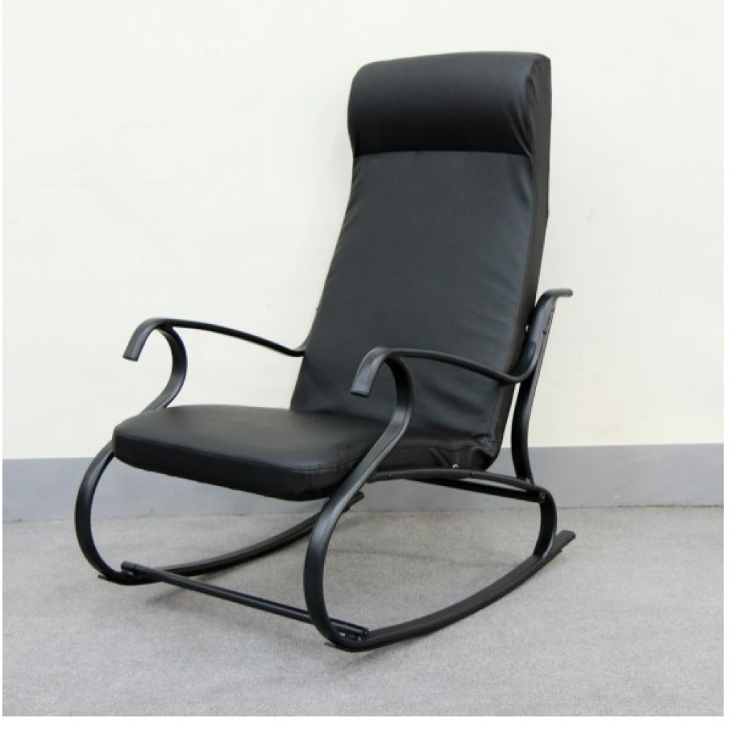 SF-015041-BKP Metal Rocking Chair