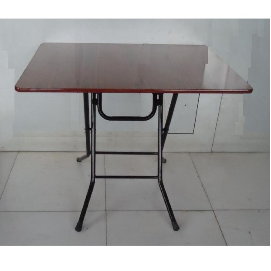 SF-10575 Metal/Wood Folding Table