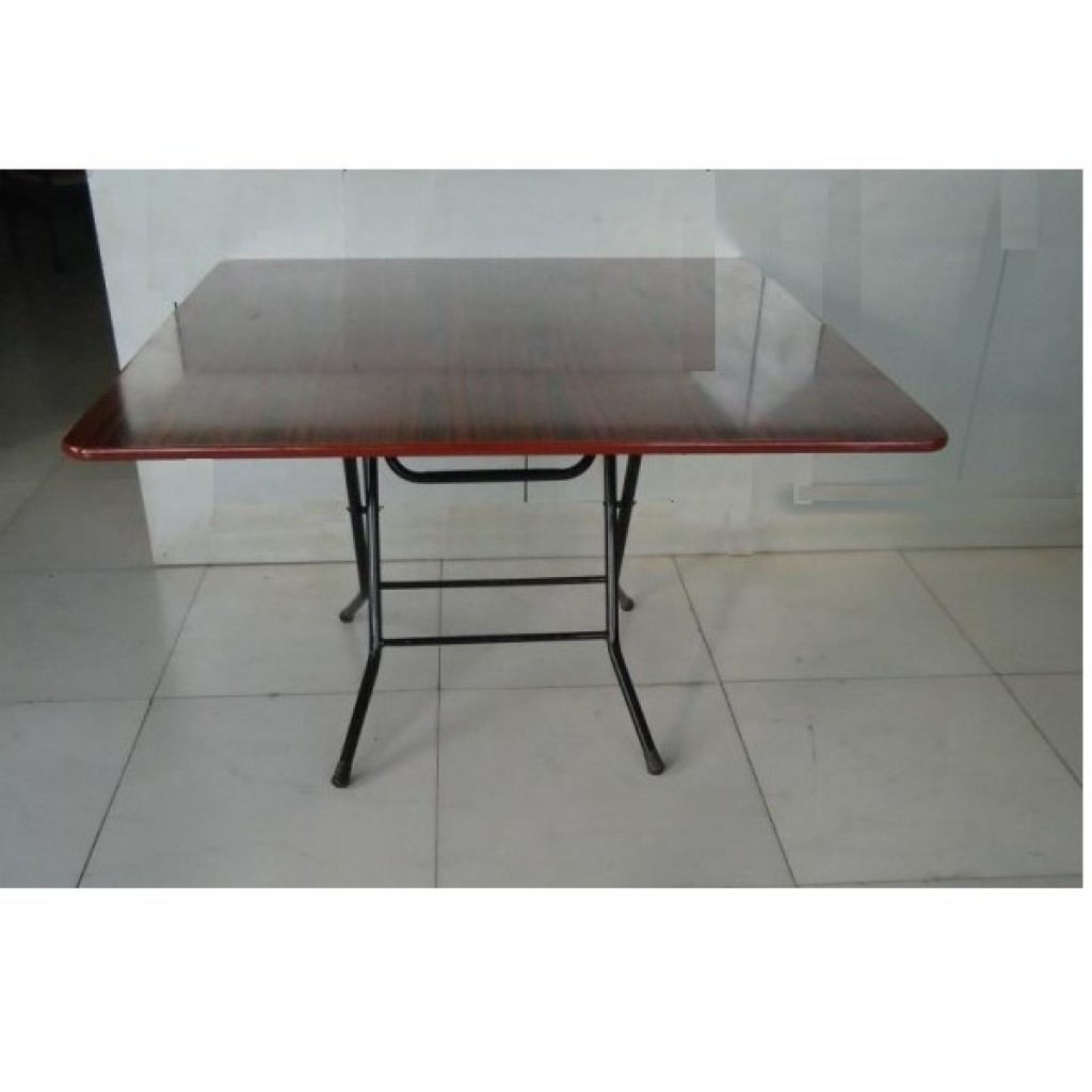 SF-120120 Metal/Wood Folding Table
