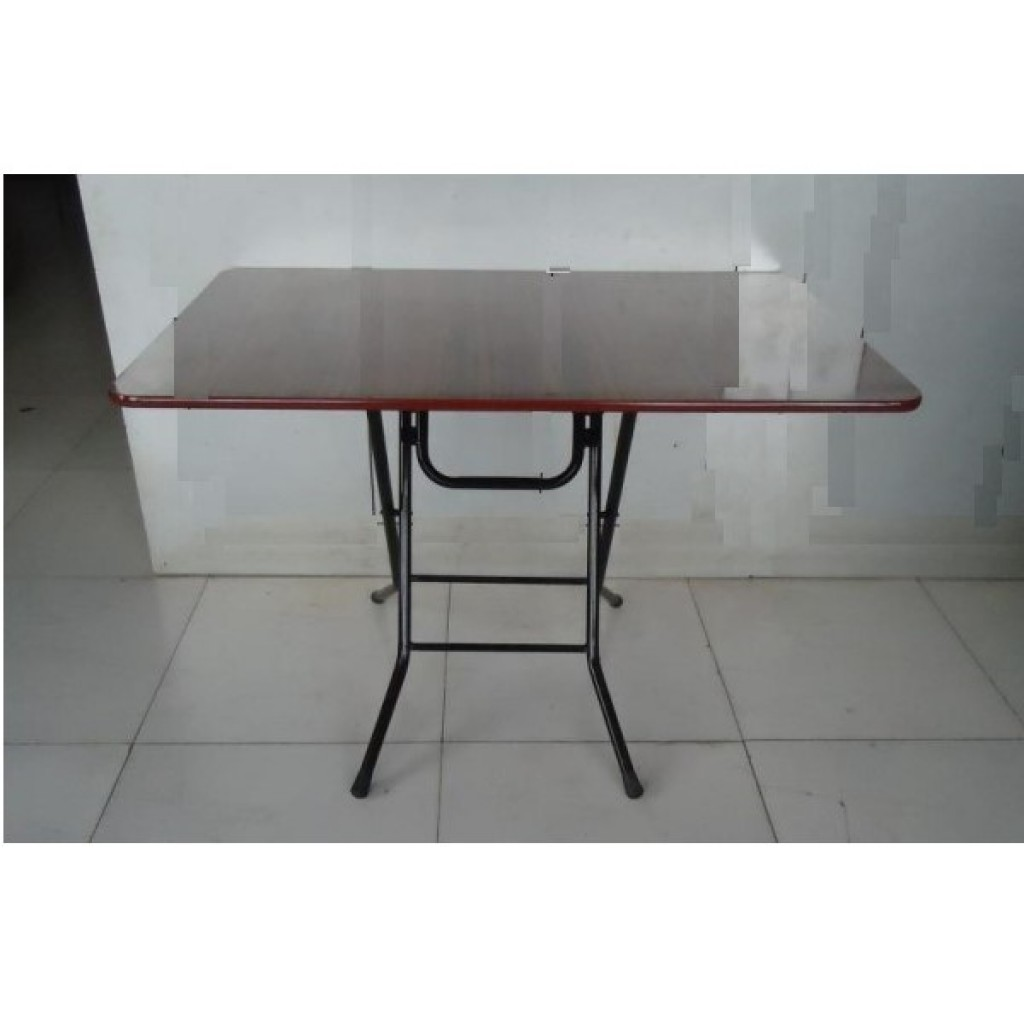 SF-12075 Metal/Wood Folding Table
