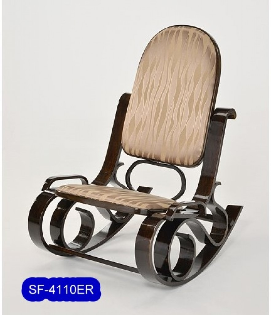 SF-4110ER Bent Wood  Biggest Size Rocking chair