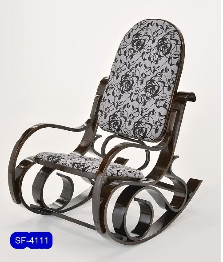 SF-4111 Bent Wood  Biggest Size Rocking chair