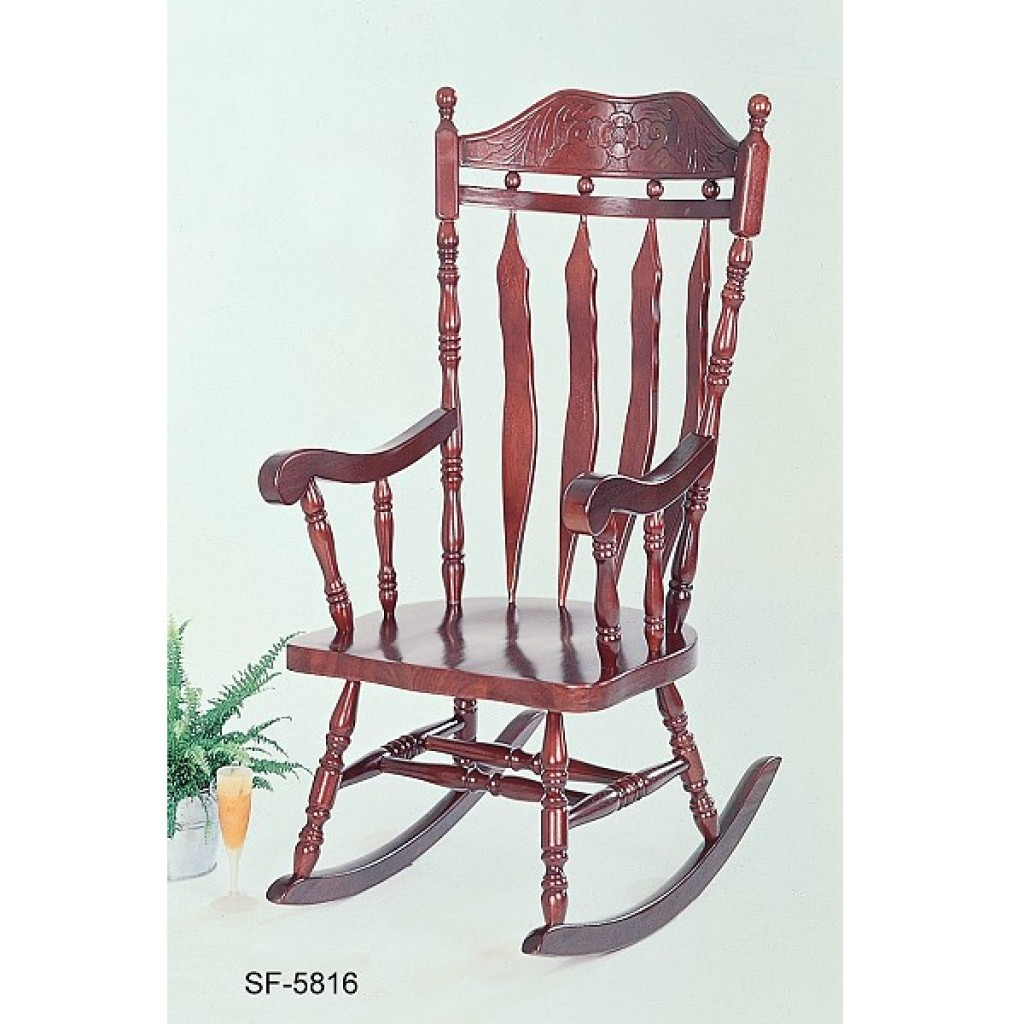 1615-5816 Solid Wood Rocking Chair