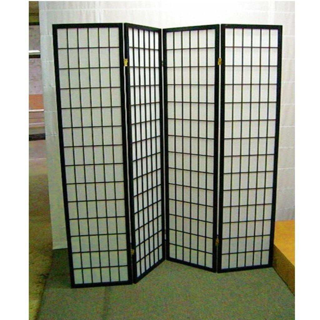 SF-601-BK-A4 WOODEN SCREEN 4PCS PANELS