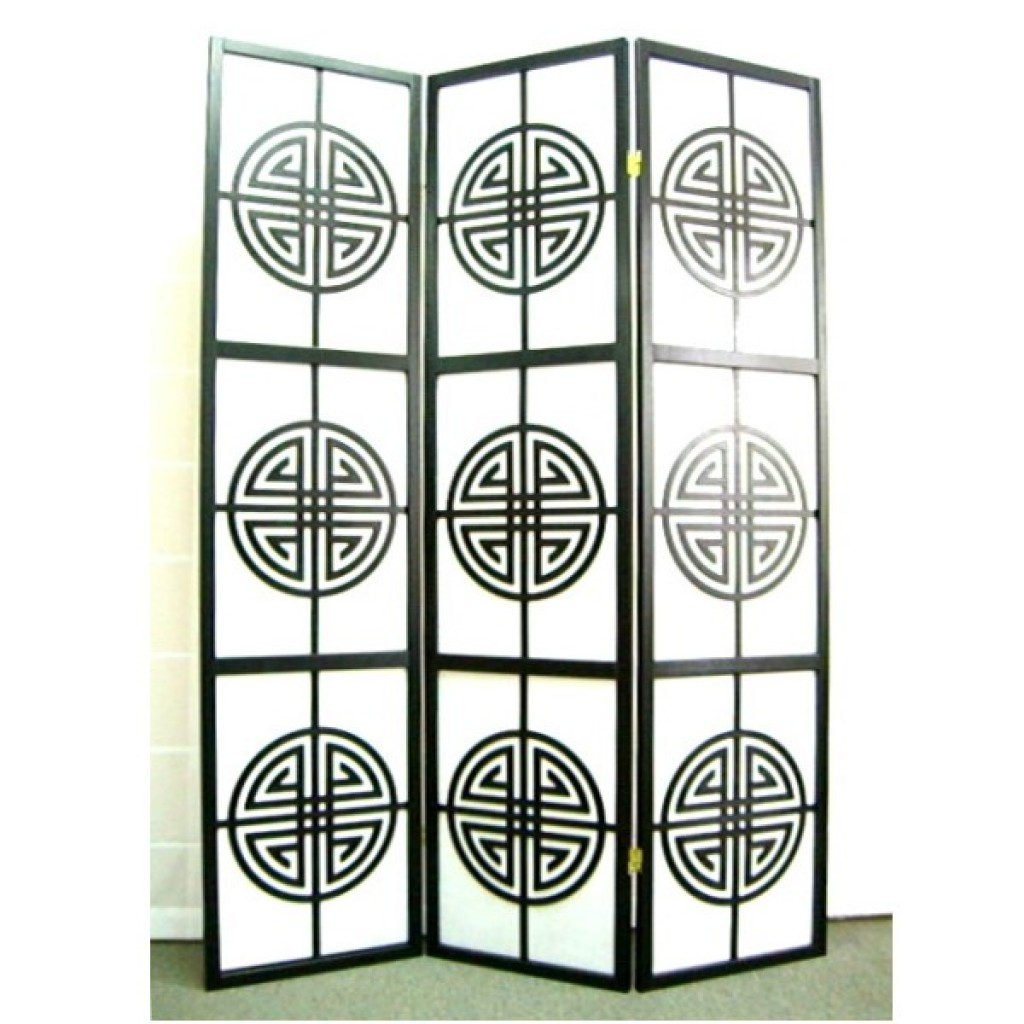 SF-665-A3 WOODEN SCREEN 3PCS PANELS