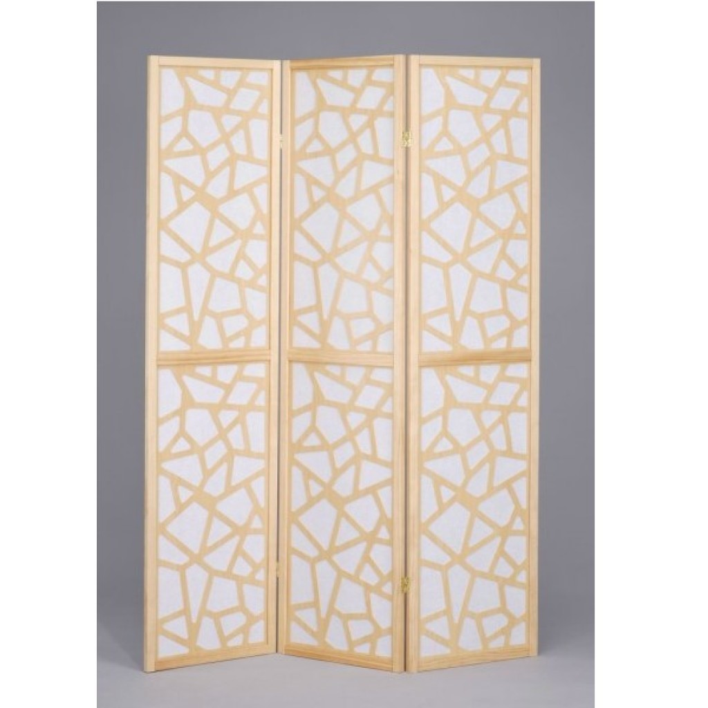 SF-669-NA3 WOODEN SCREEN 3PCS PANELS