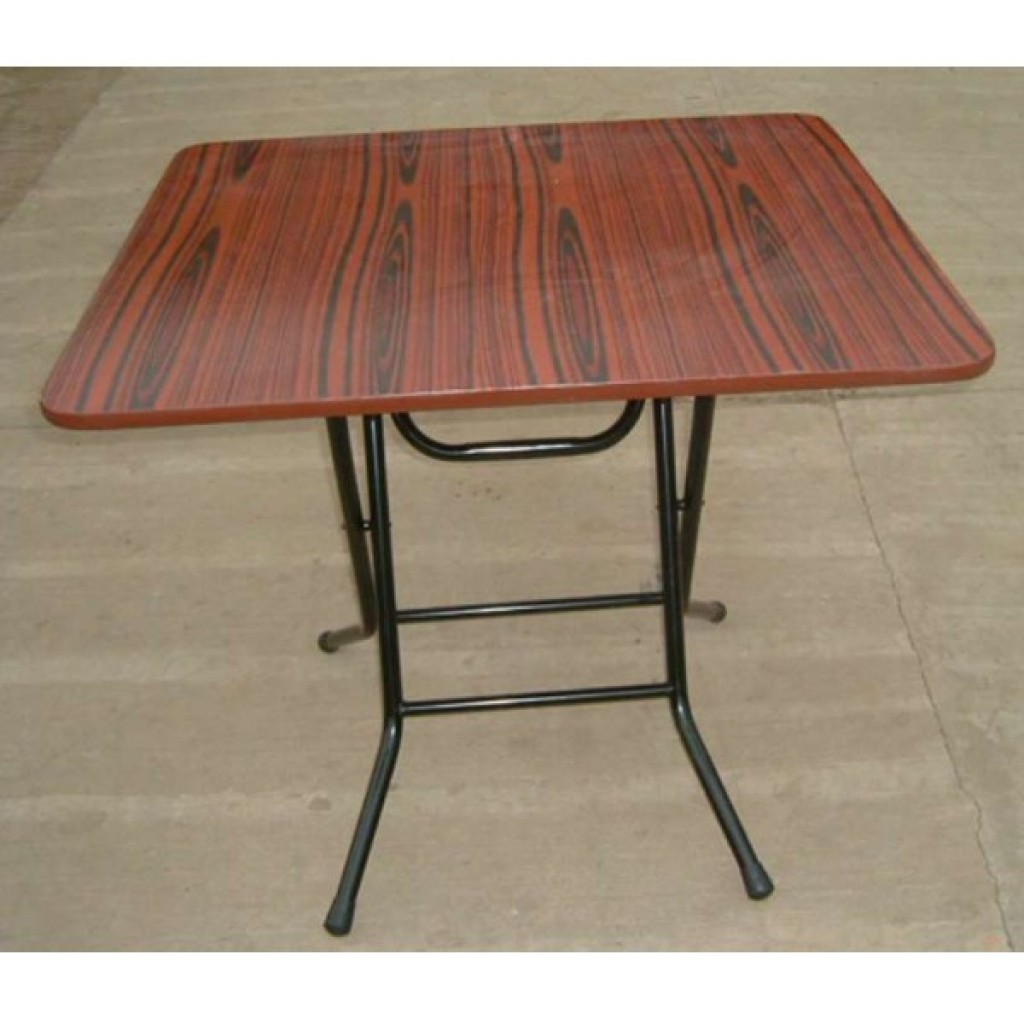 SF-8080 Metal/Wood Folding Table