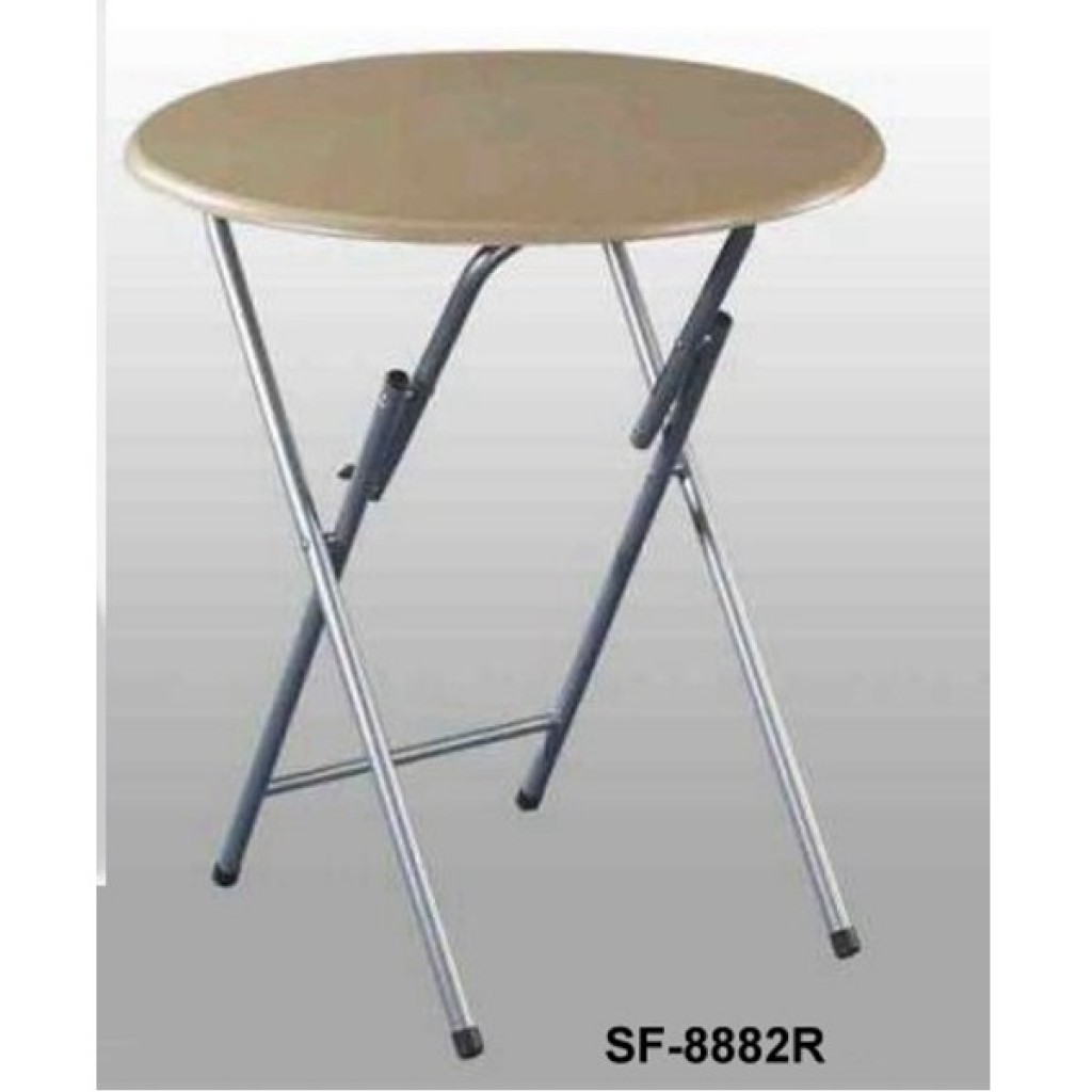 SF-8882R Wooden/Steel Folding Table