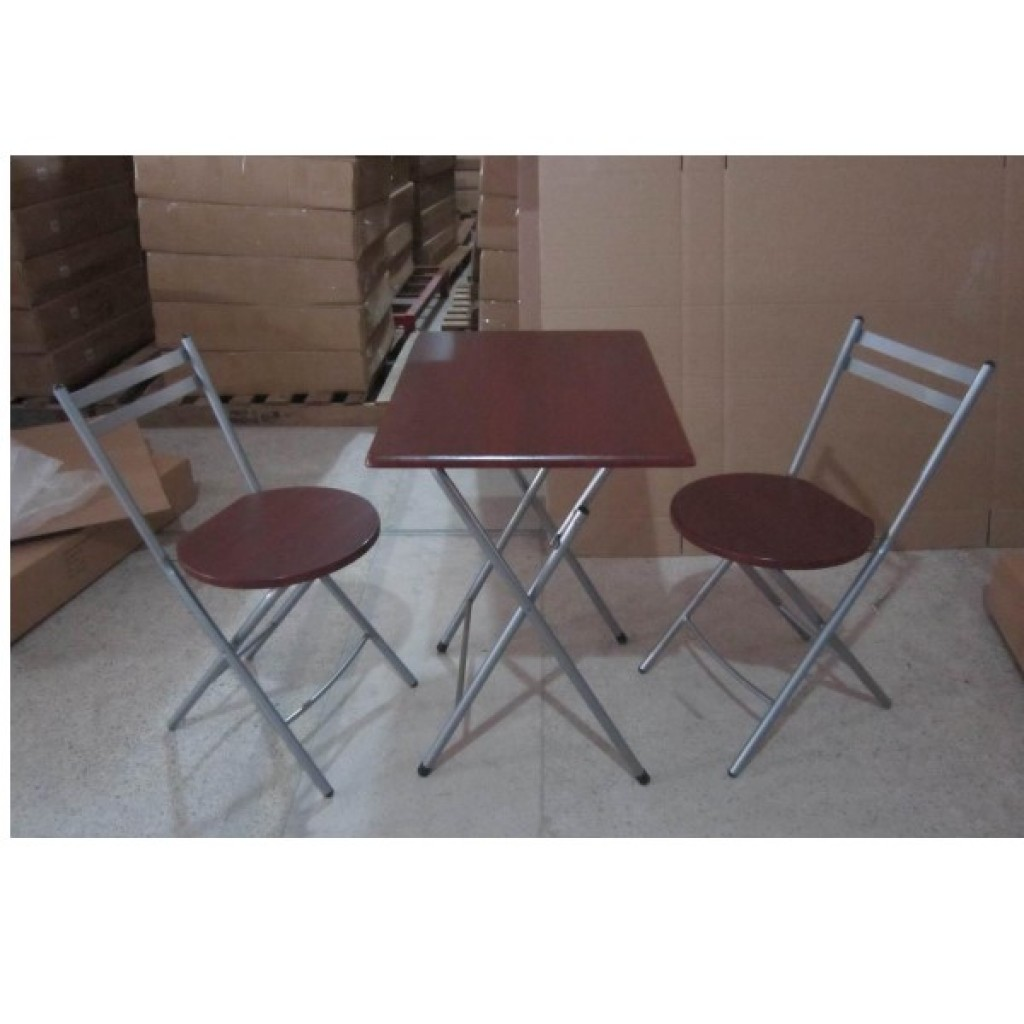 SF-8882S+8861-MH Folding Dining Set