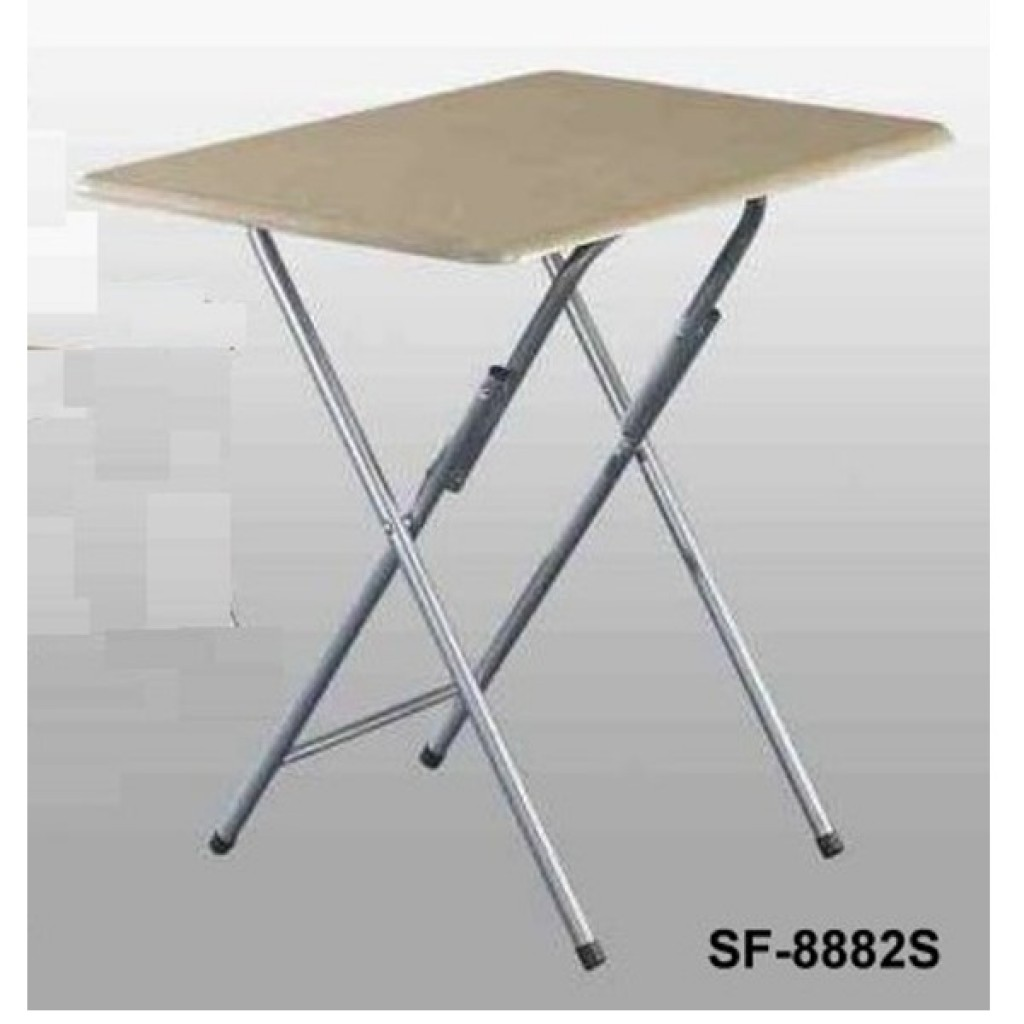 SF-8882S Wooden/Steel Folding Table
